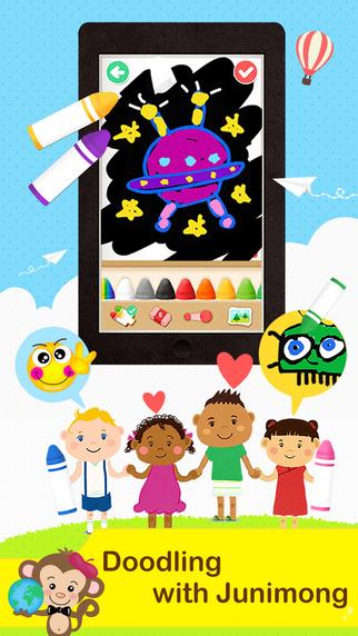 Junimong - creative drawing for kids