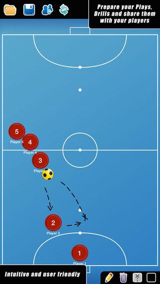 Coach Tactical Board for Futsal FREE