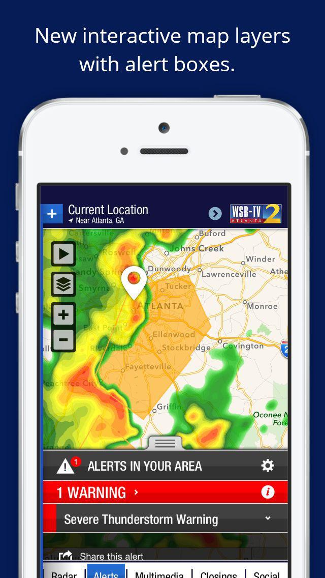 wsbtv channel 2  u2013 atlanta weather  radar  forecast  ios