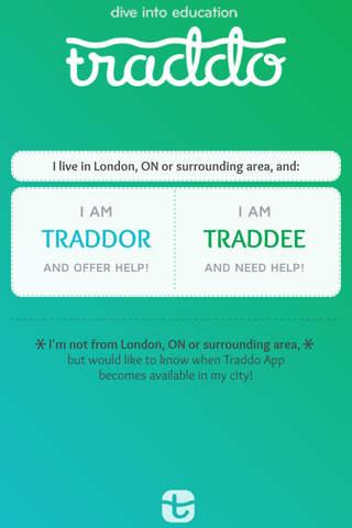 Traddo screenshot 1