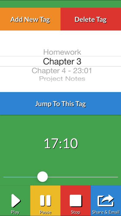 Audio Class Notes Free iPhone Screenshot 4