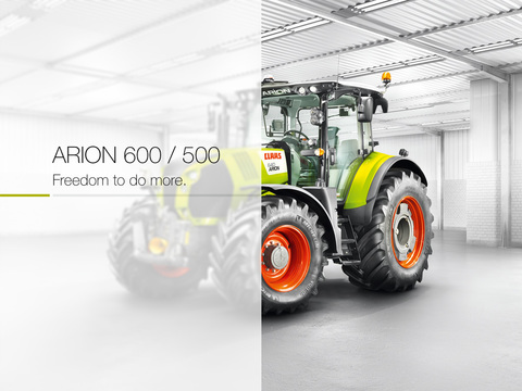 CLAAS ARION 600 500 Product Tour