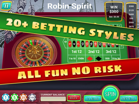 roulettes casino online indian spirit