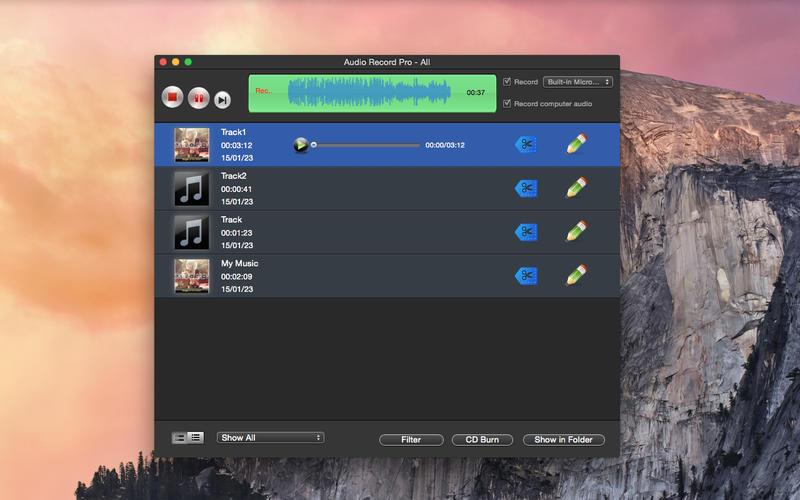 Audio Record Tool - Super Screenshot - 1