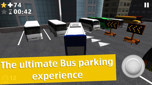 Bus Parking 3D App - Play the best free classic city driver game simulator 2015