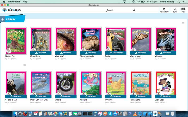 Bookaboom Screenshot - 2