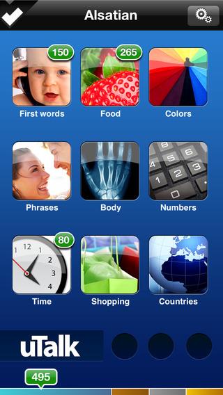 uTalk HD Alsatian iPhone Screenshot 1