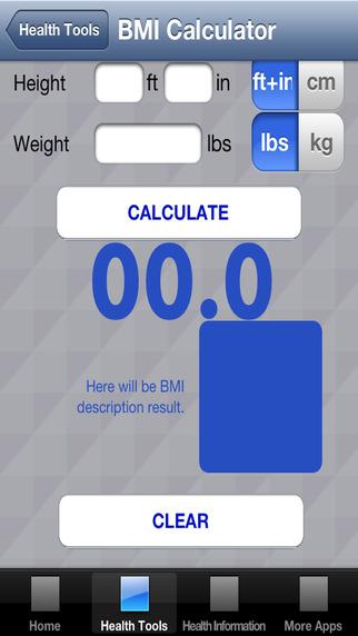 BMI Calculator - Body Mass Index Calculation For Men Women