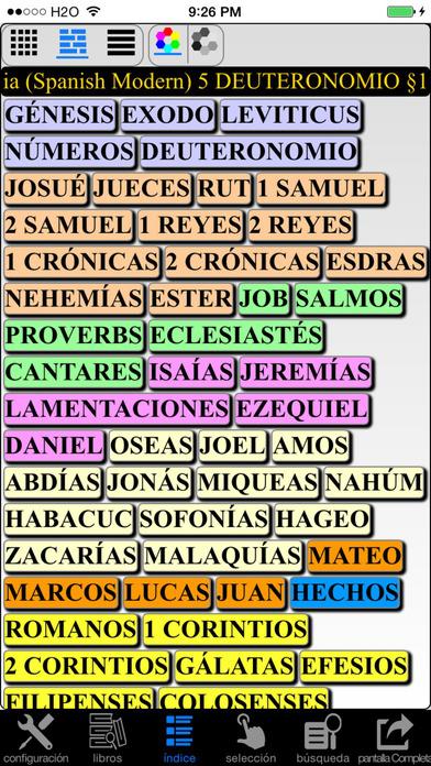 Español Santa Biblia (Spanish Modern Translation Bible) iPhone Screenshot 4