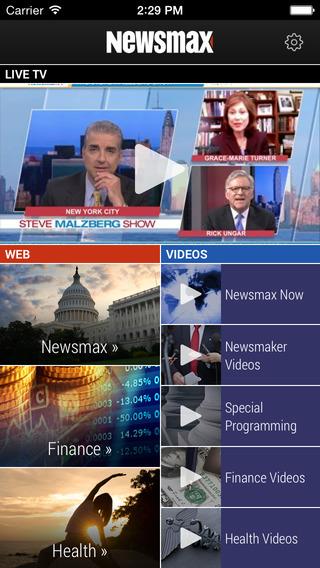 Newsmax TV Web