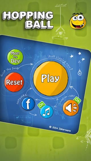《物理益智 弹跳球:Hopping Ball [iPhone]》