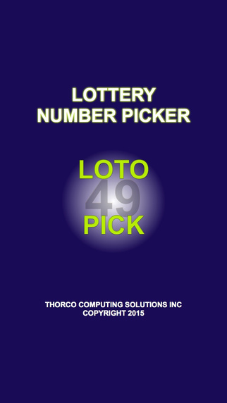 Lottery Number Picker Mobile