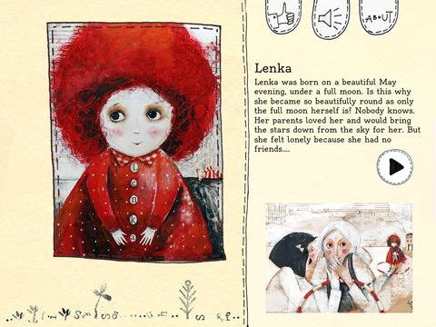Lenka - a beautiful children story about friendship by award-winning illustrator Katalin Szegedi