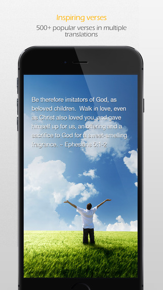 BibleScapes - Inspiring verses for daily devotion
