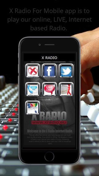 X Radio Live App