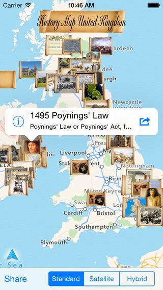 History Map United Kingdom
