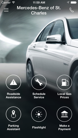 Mercedes-Benz of St. Charles DealerApp