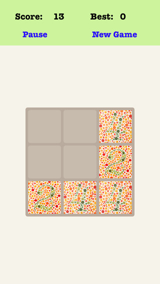 Color Blind 3X3 - Playing The Piano And Sliding Number Tiles