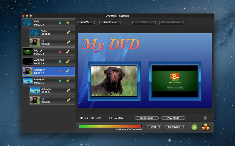 DVD Creator Tool Burn Video Screenshot - 1