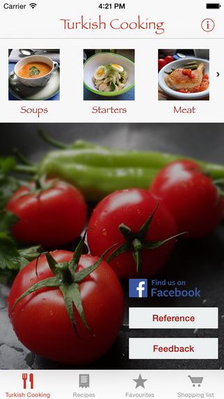 Turkish Cooking App