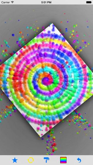 旋转喷绘:SpinArt