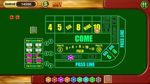 Casino Mafia- Xtreme Vegas Craps Master Shooter Game