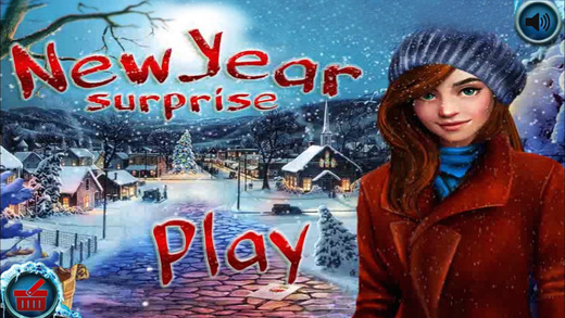 New Year Surprise Hidden Objects Game