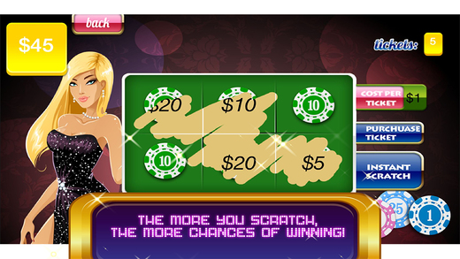 Bikini Beach Lottery - Scratch Mania Lucky Lotto Casino