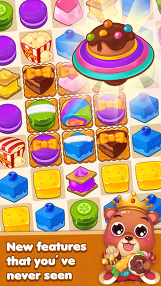 Cake Crush - 3 match puzzle jolly splash game