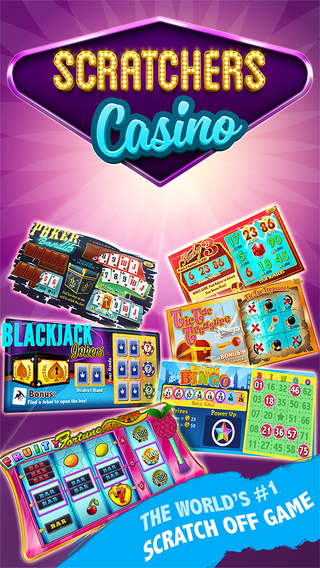 Scratchers Casino - Free Lottery Cards + Slots