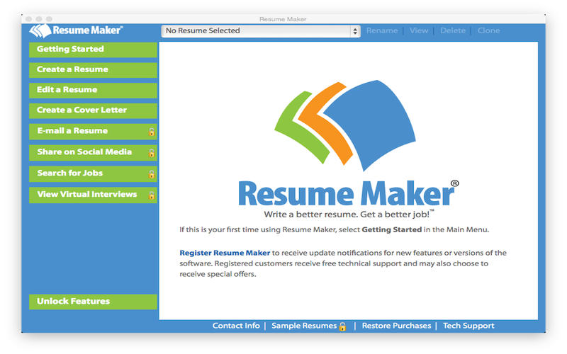 resume maker 174 free por individual software inc