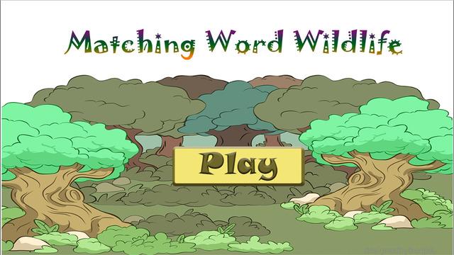Spelling Words Wild Animal