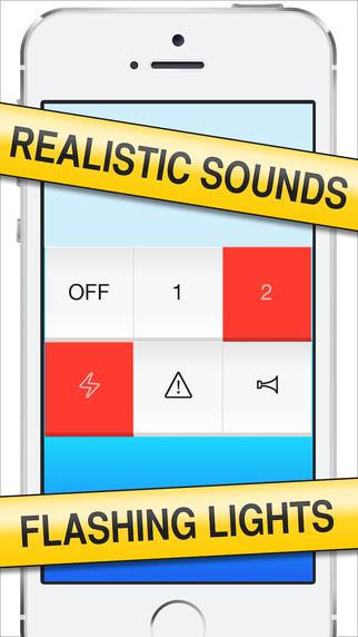 Woop-Woop! Realistic Police Siren - 模拟警车声[iOS][¥6→0]丨反斗限免