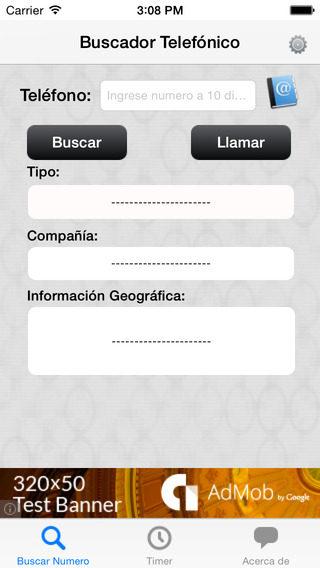 Numeracion de Mexico iPhone Screenshot 1