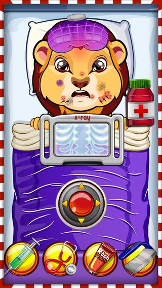 Crazy Pet Vet Hospital Doctor - Fun dentist hair nose eye care salon games for girls
