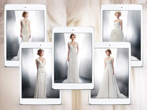 Wedding Dress Ideas - Luxury Collection for iPad