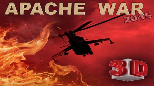 Apache War 3D- A Helicopter Action Warfare VS Infinite Sky Hunter Gunships and Fighter Jets arcade v