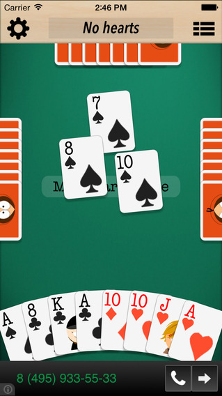 King of Hearts iPhone Screenshot 1