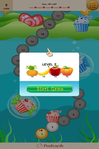 Fruit  Cupcake screenshot 1