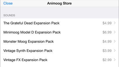 Animoog for iPhone screenshot 5