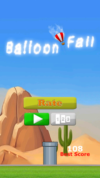 Balloon Fall - Catch Them All