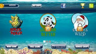 Screenshot 3 Туз Мега Рыба Звездой Покера Pro — игры в карты на двоих казино гранд