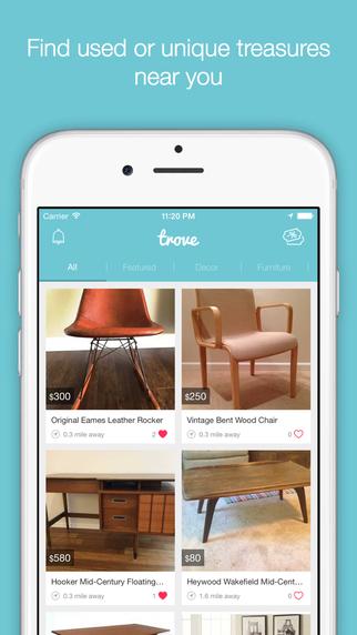 Trove Marketplace App