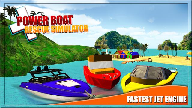 Power Boat Rescue Simulator 3D