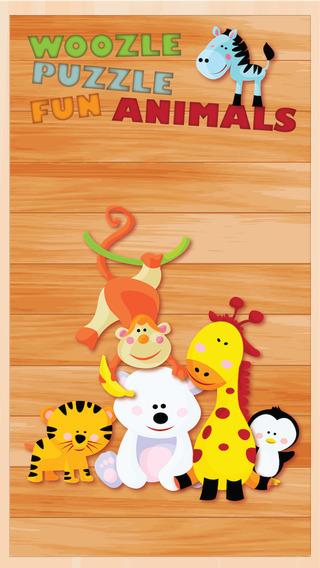 Animal Kingdom Fun Puzzle Woozzle