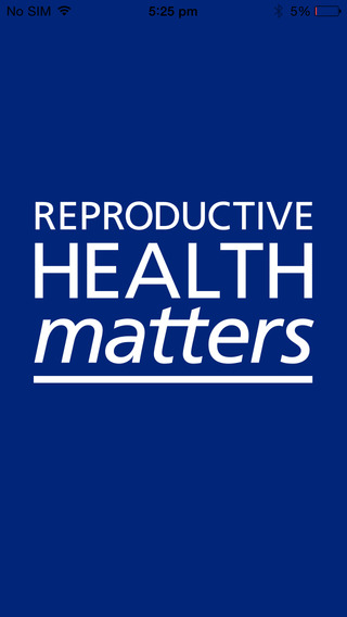 Reproductive Health Matters