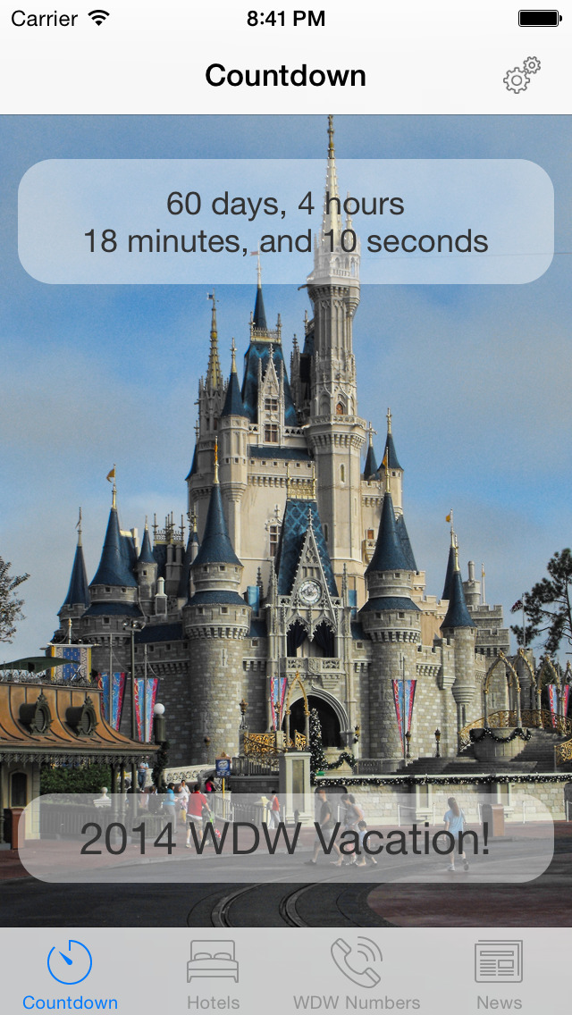 Vacation Countdown For Disney World Ios