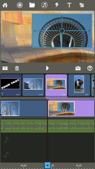 Pinnacle Studio - video editing Screenshots