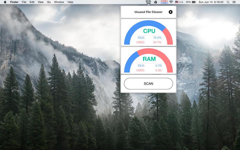 Unused File Cleaner Screenshot - 1