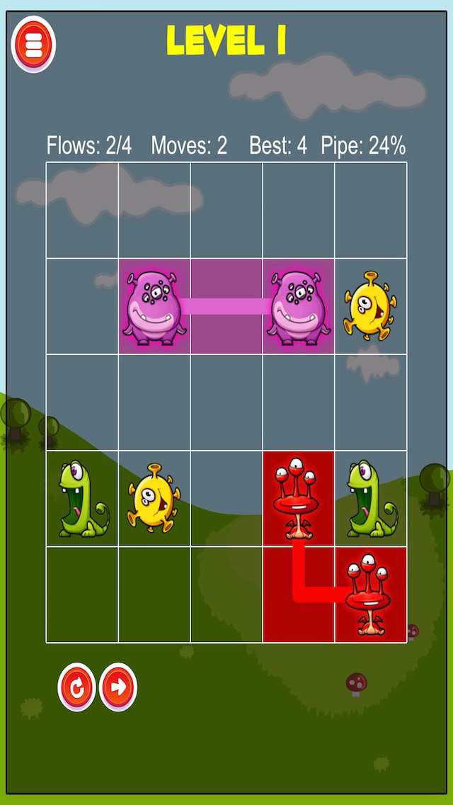 A Wacky Monster Puzzle Arcade screenshot 2